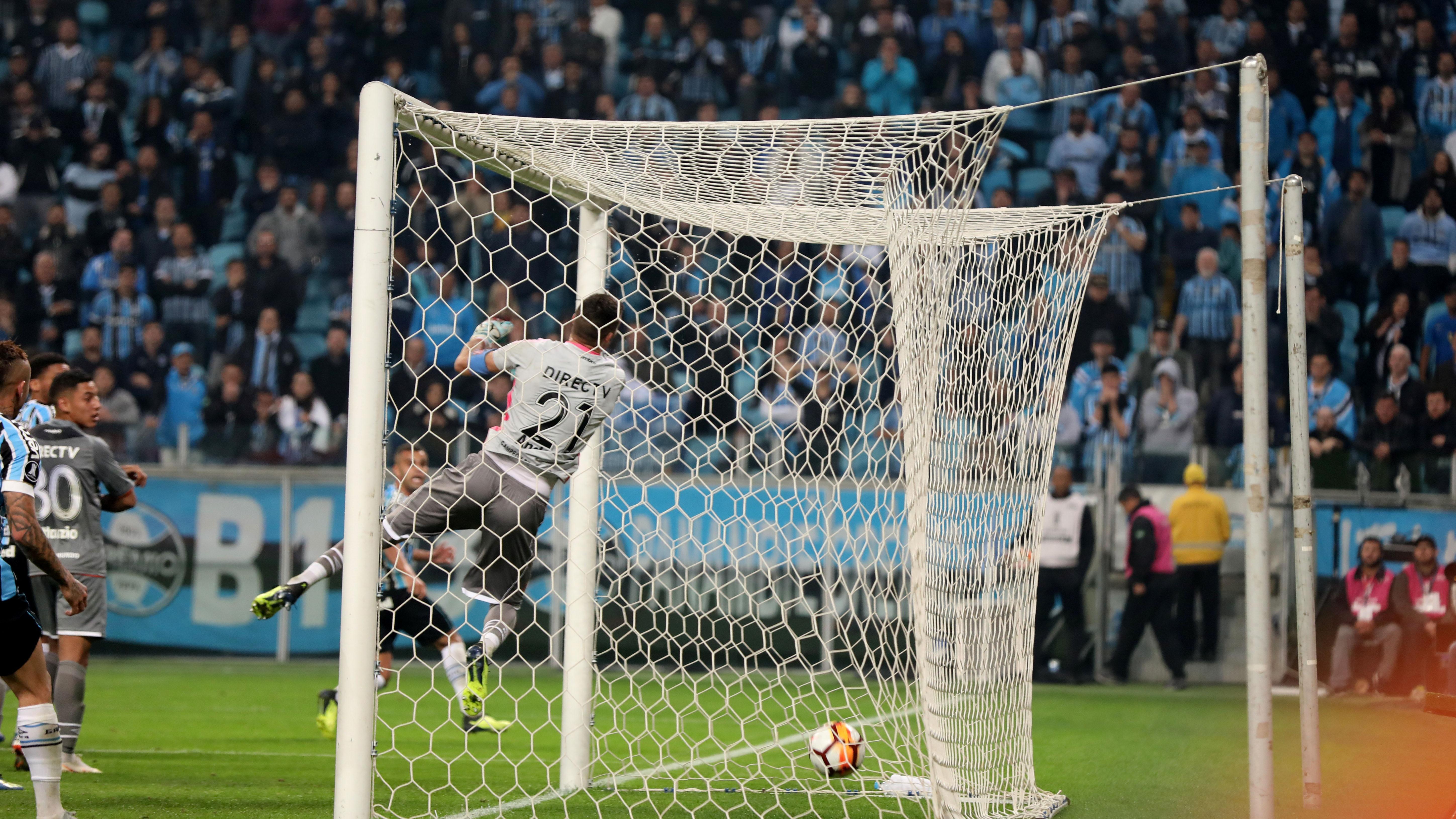 AFP Copa Libertadores 2018 Gremio Estudiantes 28082018
