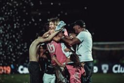 A festa do Independiente del Valle campeão