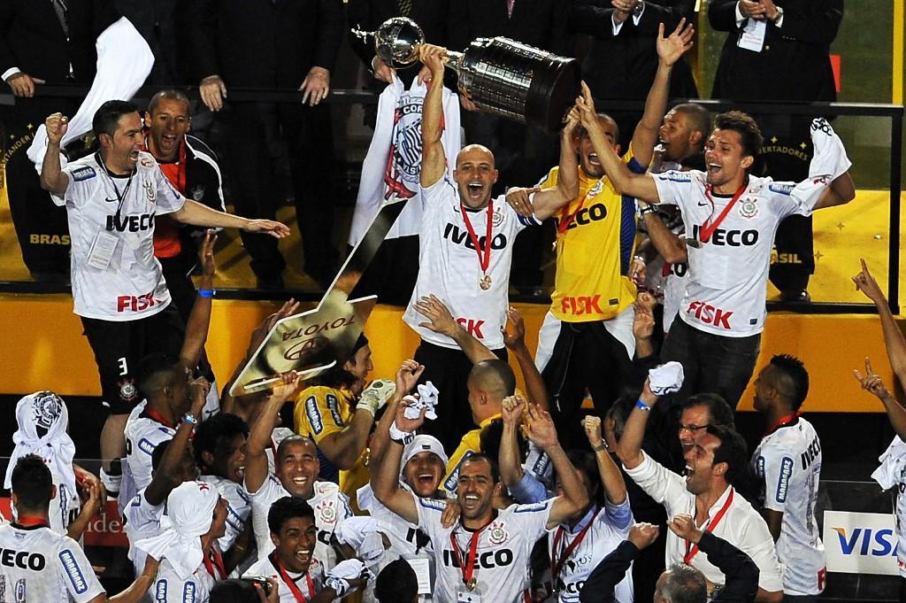 AFP Corinthians Libertadores 2012