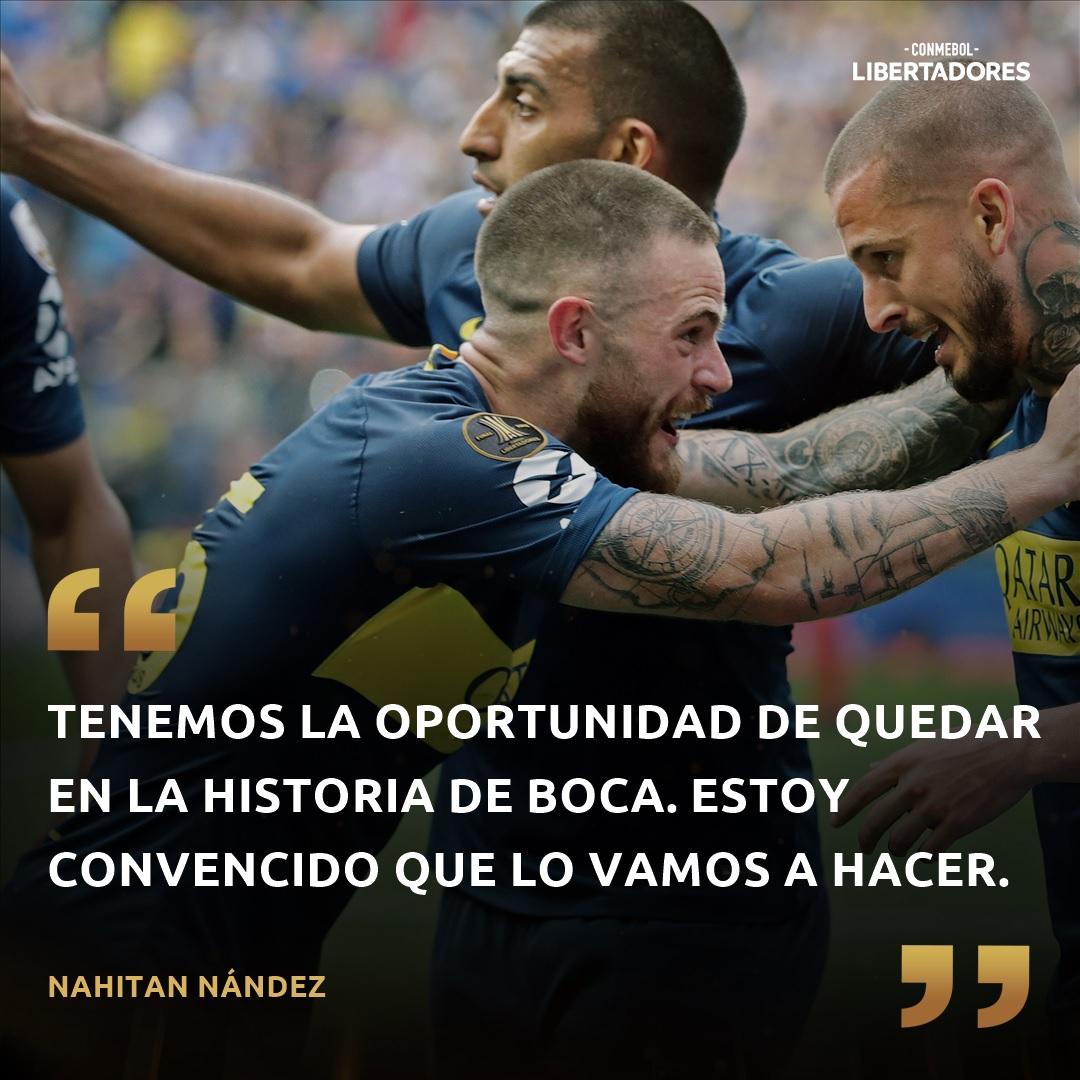 Libertadores Nandez frase