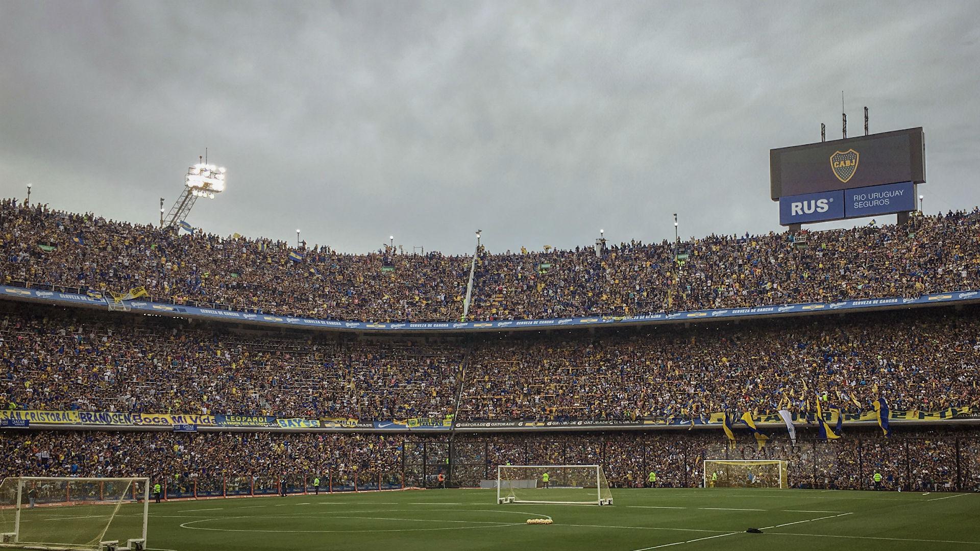 Bombonera entranamiento abierto final Copa Libertadores 2018