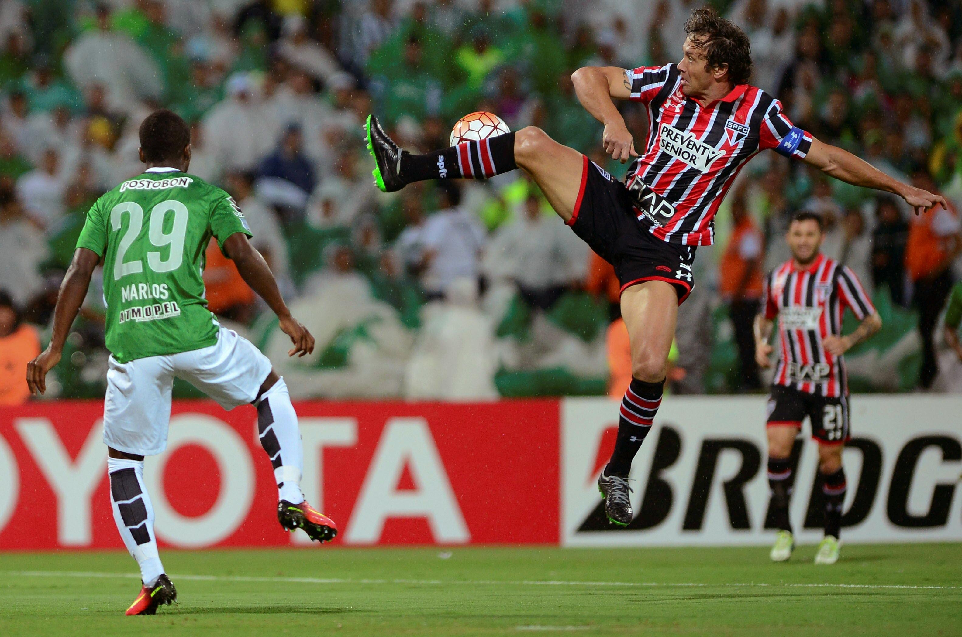 São Paulo Atlético Nacional Copa Libertadores 2016 Diego Lugano