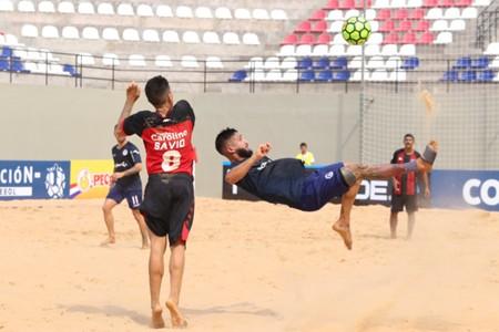 Libertadores Futbol Playa Acassuso Vitoria