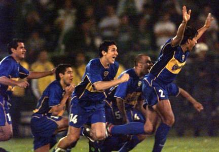 Boca campeón 2001