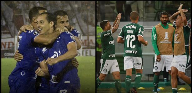 Cruzeiro/Palmeiras - fase de grupos da Libertadores