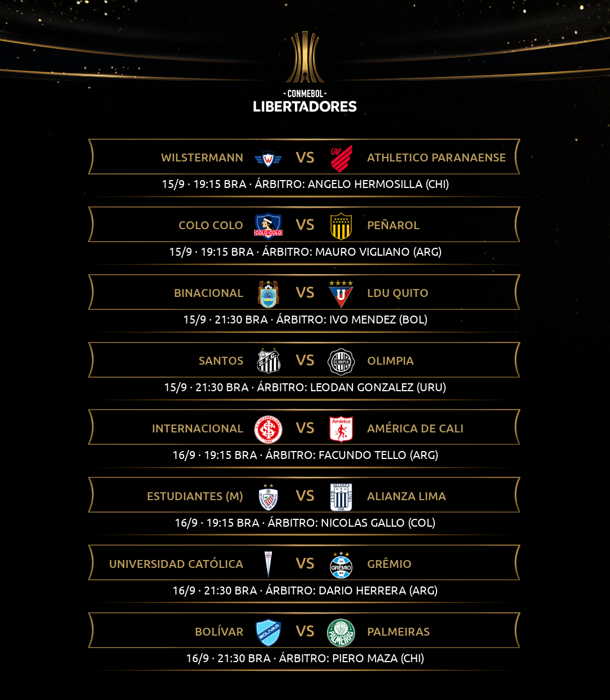 Árbitros 1 Libertadores