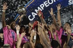 Independiente del Valle festejos Sudamericana