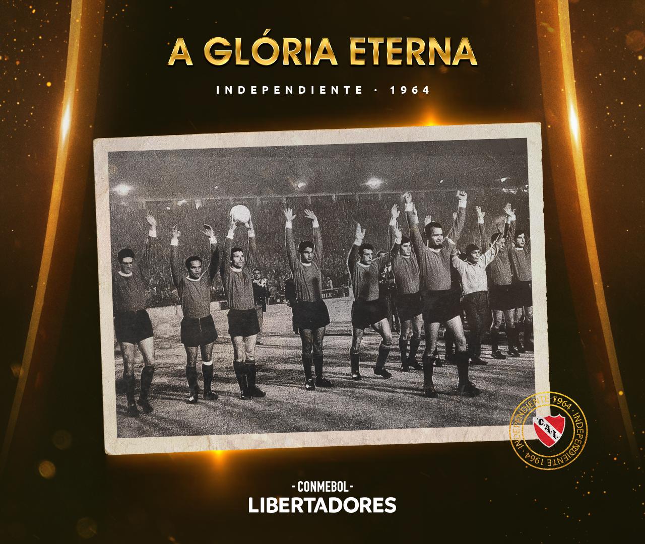 Independiente Libertadores 1964