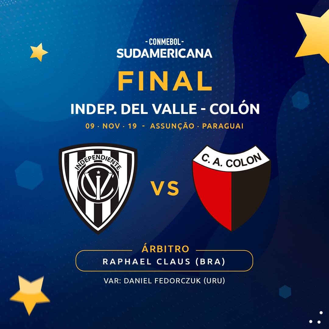 Arbitro final Sul-Americana 2019