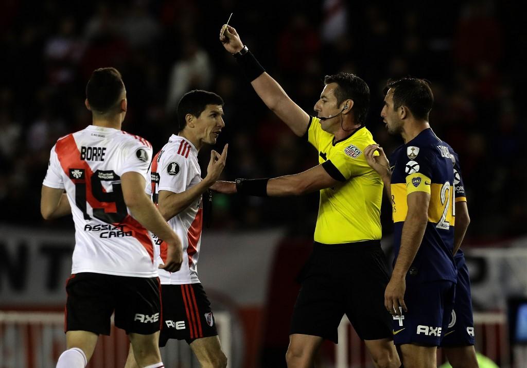 AFP Boca Juniors River Plate Libertadores