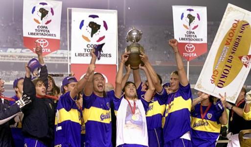 Boca Copa Libertadores 2000