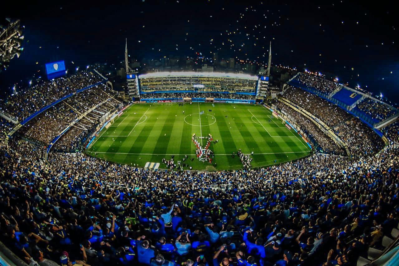 Bombonera Alberto J Armando Estadio Boca Juniors Copa CONMEBOL Libertadores