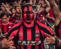 Torcedor do Atlético-PR - final Sul-Americana