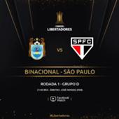 Binacional x São Paulo