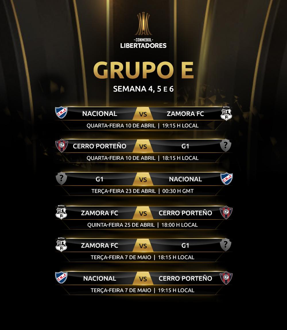 Libertadores 2019 Grupo E volta