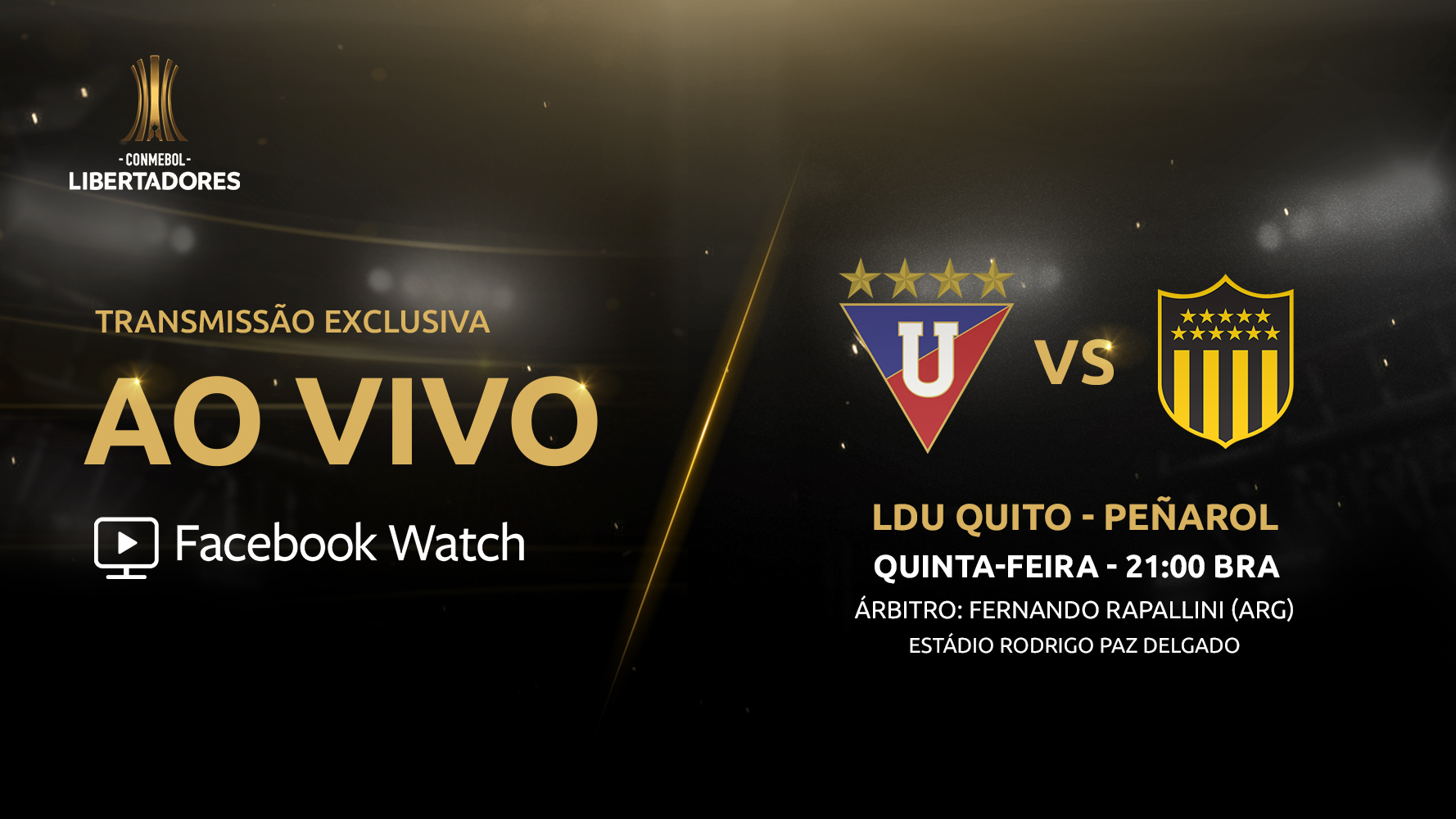 LDU x Peñarol - Facebook