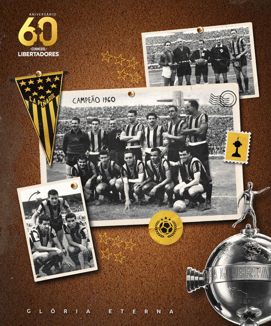 Peñarol campeão Libertadores 1960