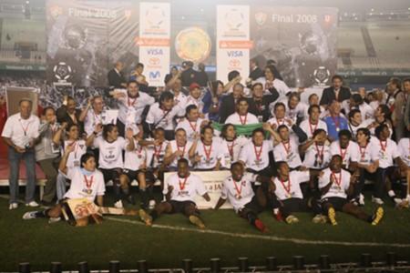 Liga de Quito campeón Libertadores 2008
