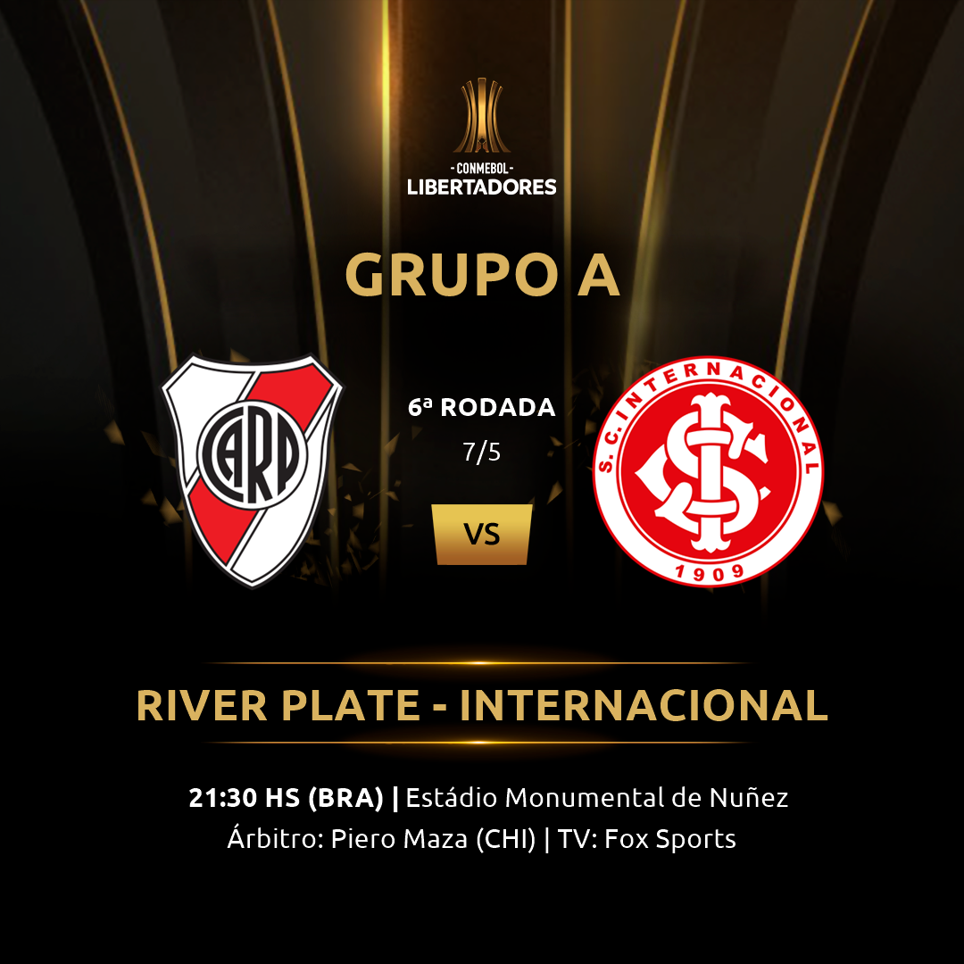 River Plate x Internacional