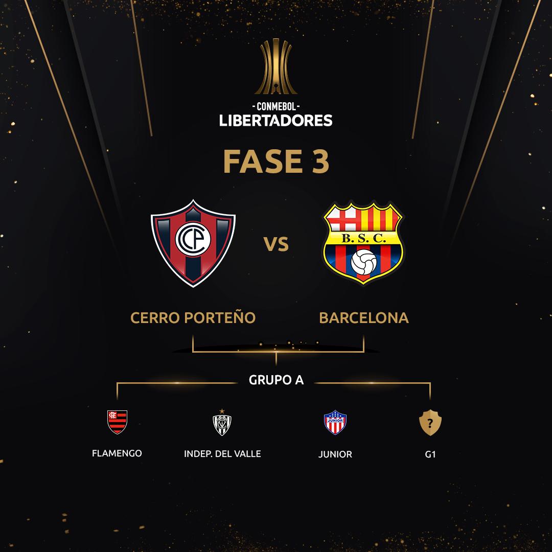 Fase 3 - Grupo A Libertadores