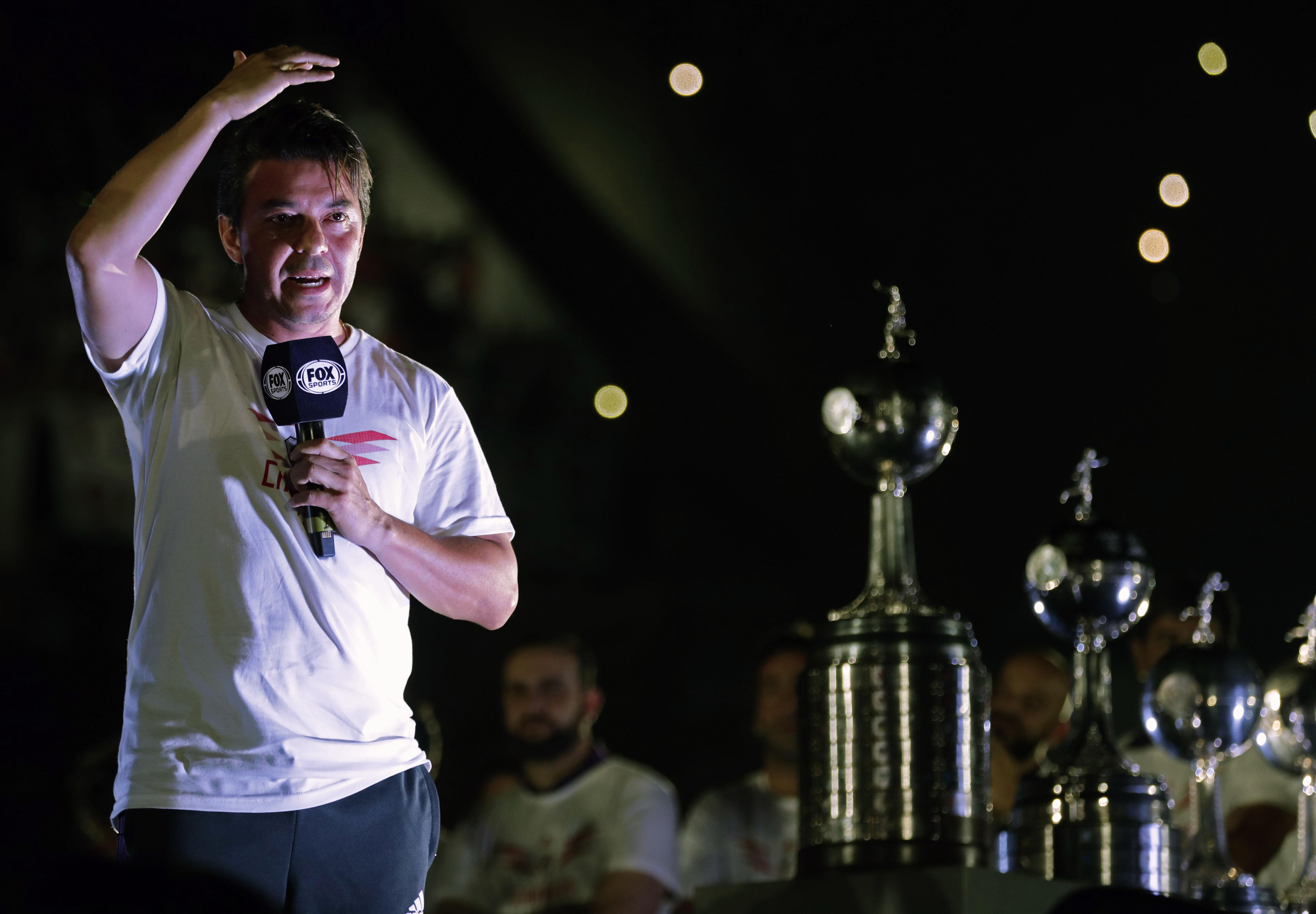 Marcelo Gallardo River Copa Libertadores