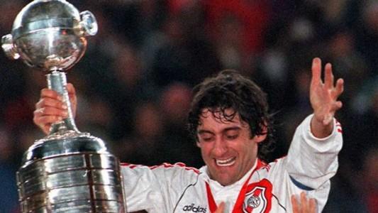 Francescoli Copa Libertadores Rivr
