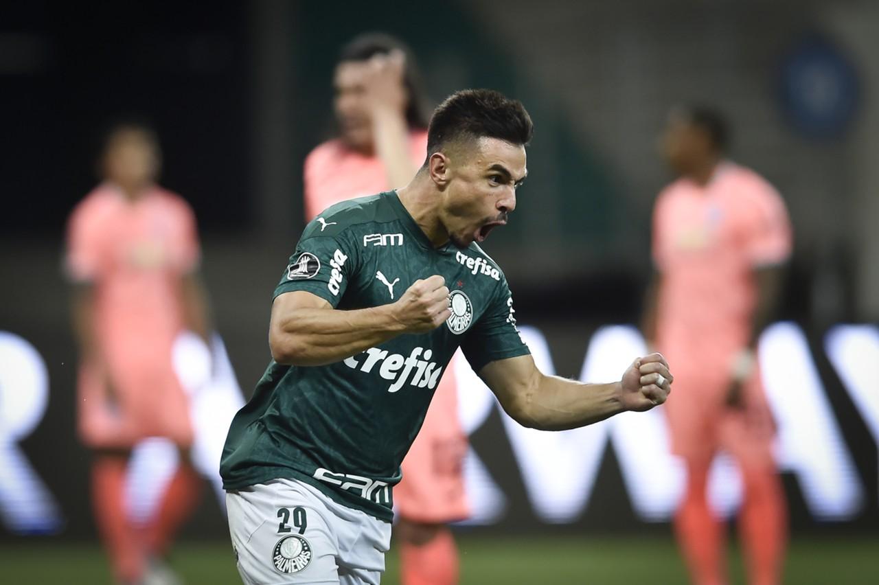 Willian Palmeiras Bolívar Libertadores 2020