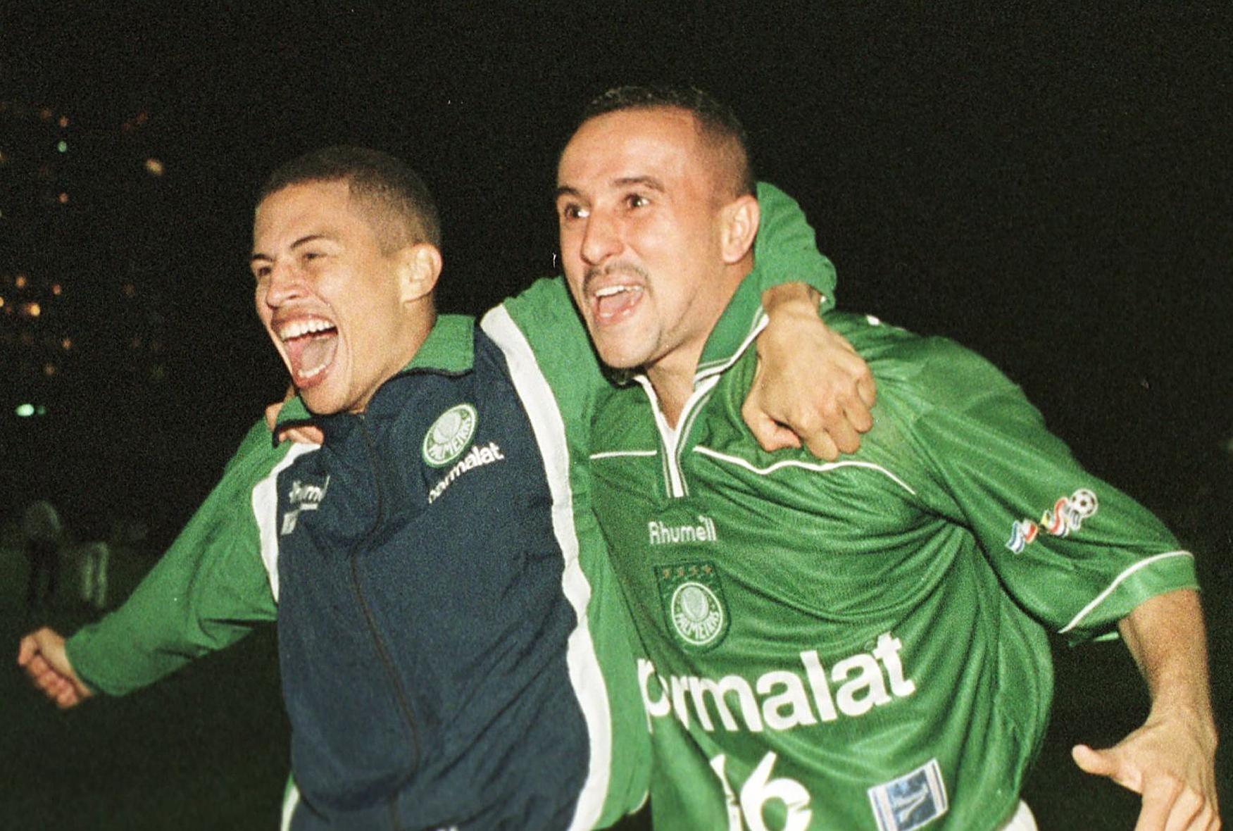 Alex e Rogério - Palmeiras 1999