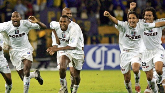 Once Caldas Libertadores 2004 AFP