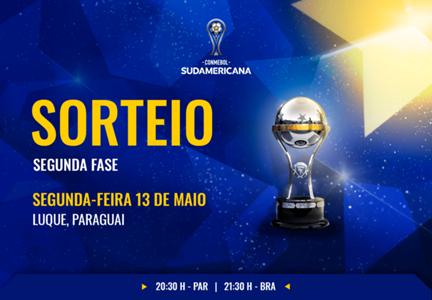 Sorteio Fase 2 Copa Sul-Americana