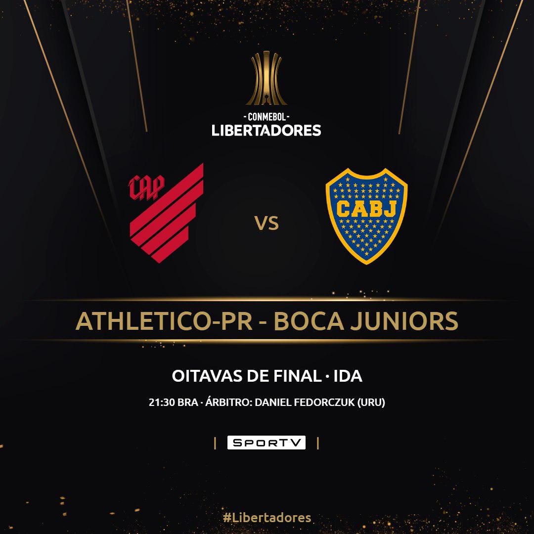 Athletico Paranaense Boca Juniors Copa Libertadores