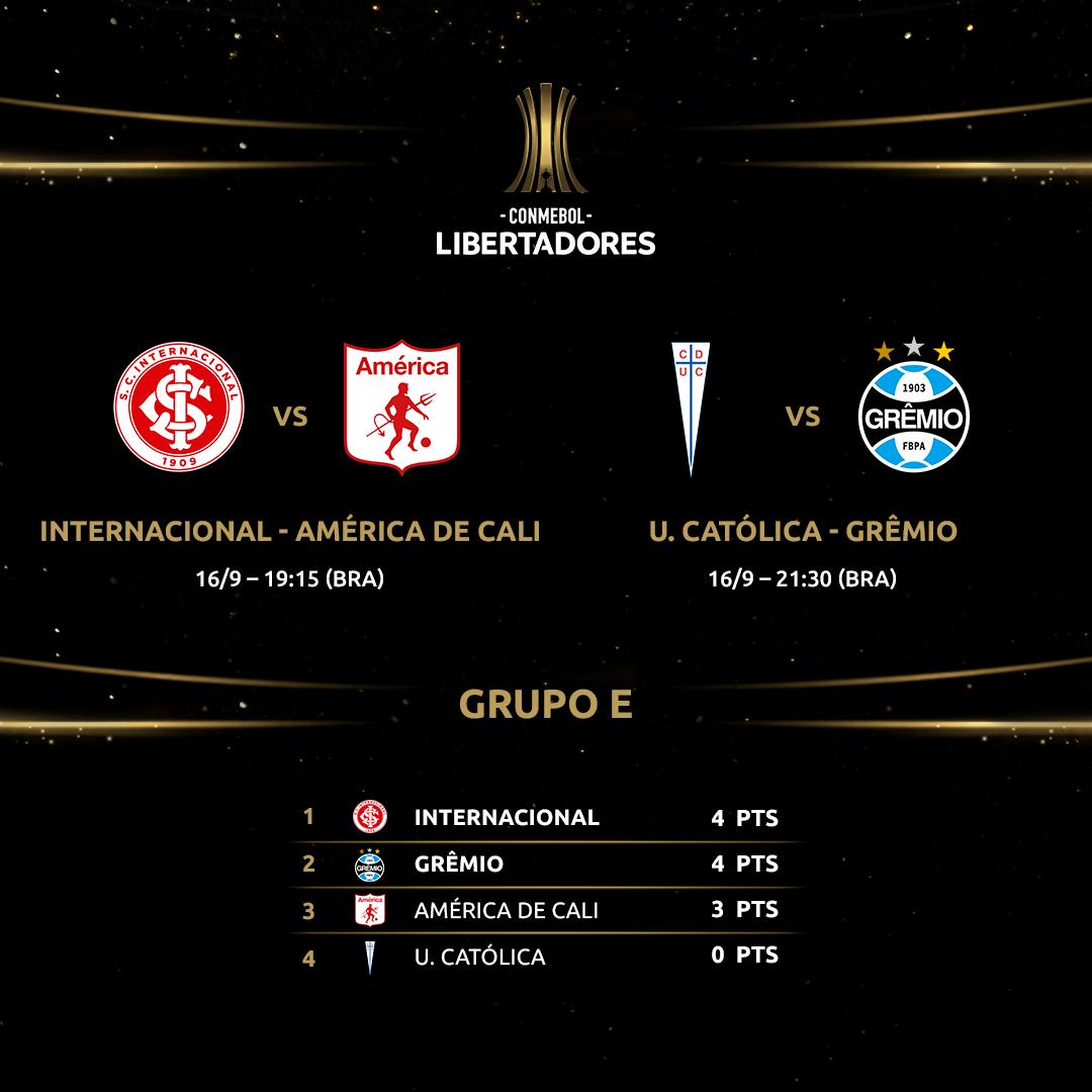 Volta da Libertadores - Grupo E
