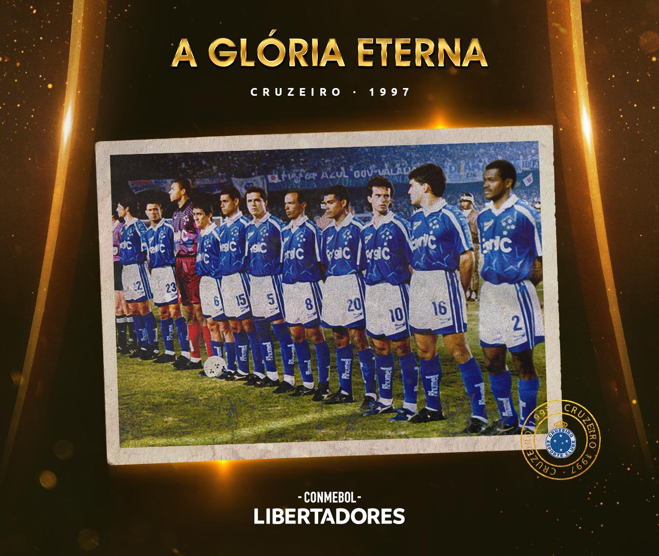 Cruzeiro Libertadores 1997