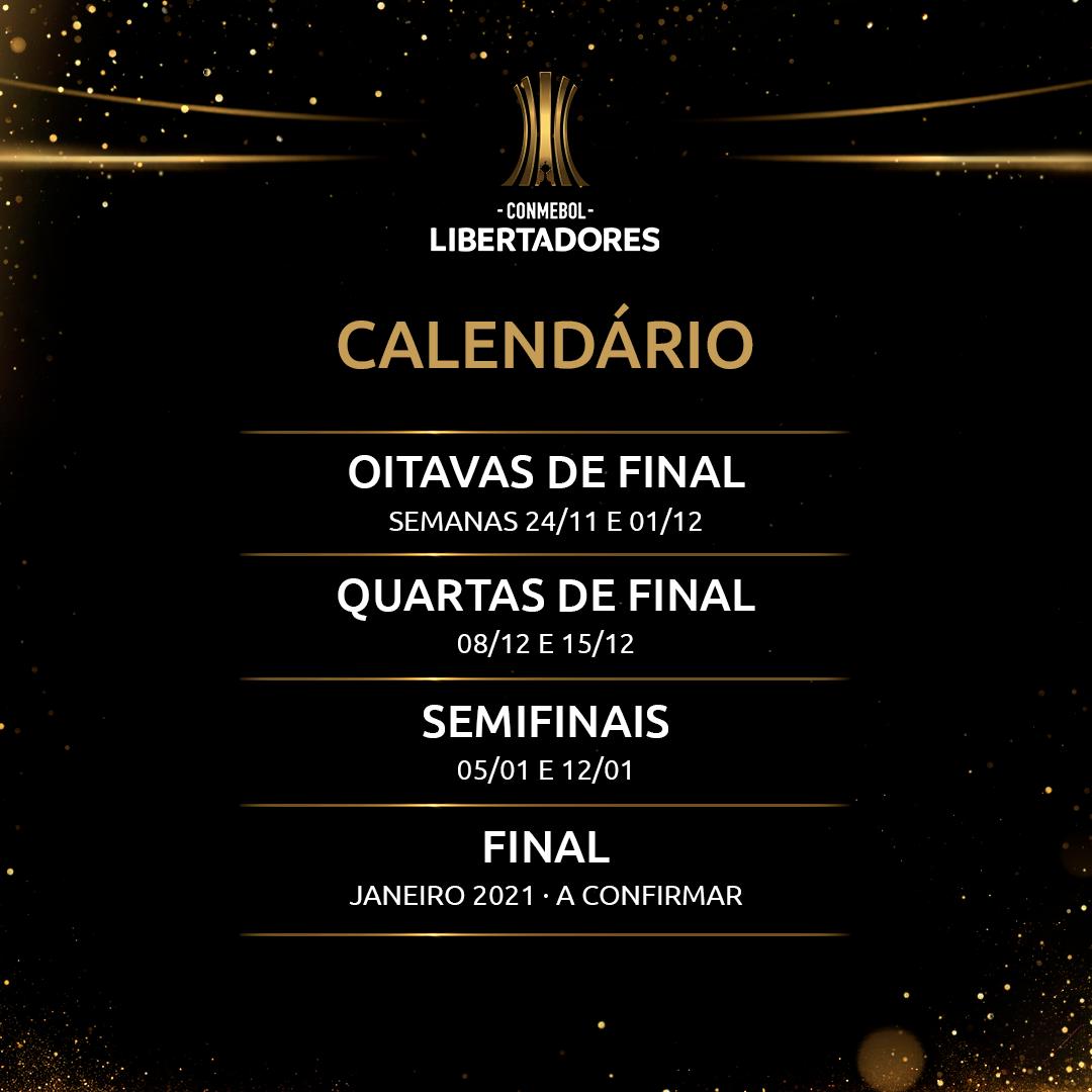 Calendário da Libertadores