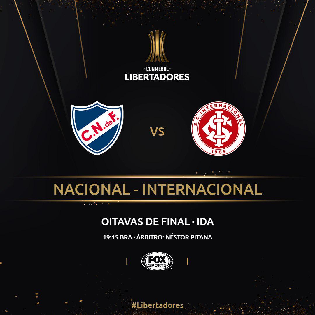 Nacional Internacional Copa Libertadores 2019