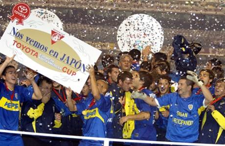 Boca Libertadores 2003