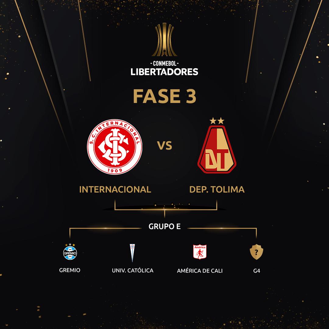 Fase 3 - Grupo E Libertadores