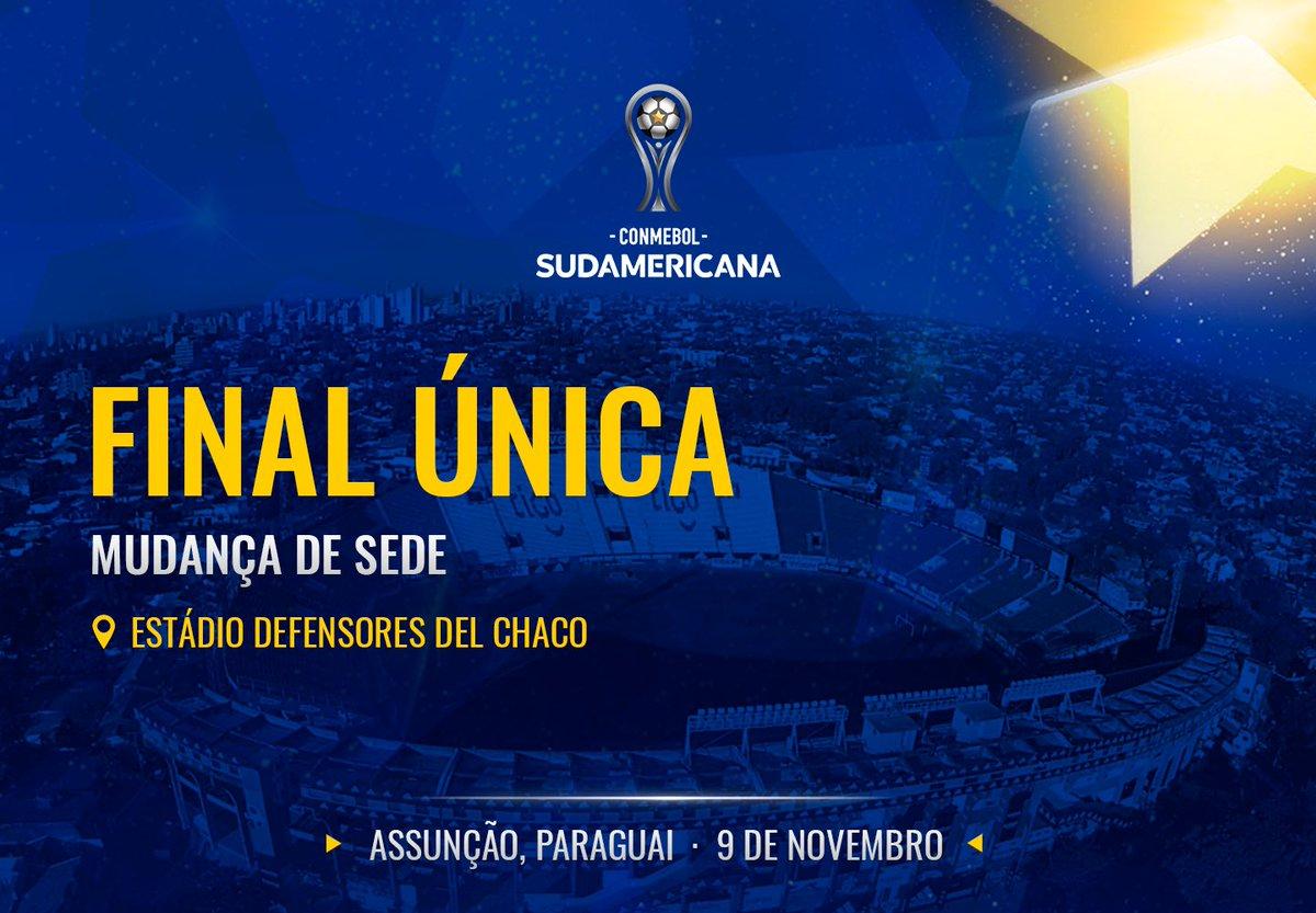 Copa Sul-Americana 2019 nova sede Assunção