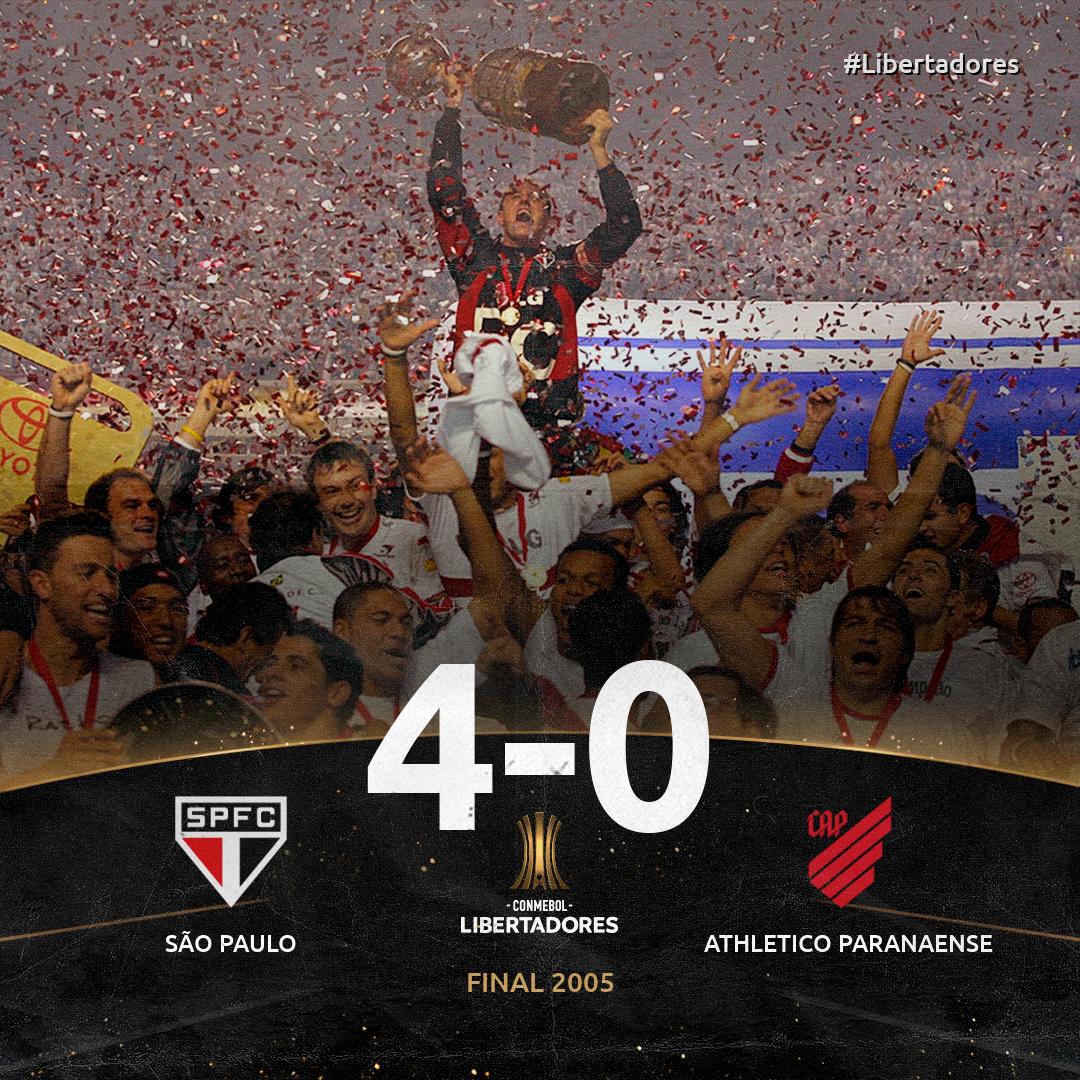 São Paulo x Athletico-PR - 2005