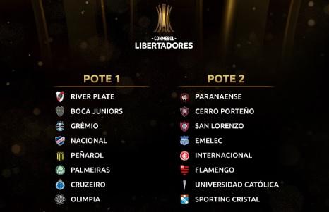 potes - Libertadores