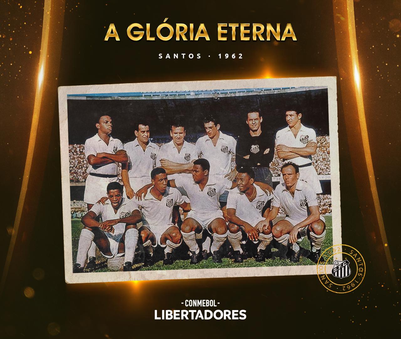 Santos Libertadores 1962