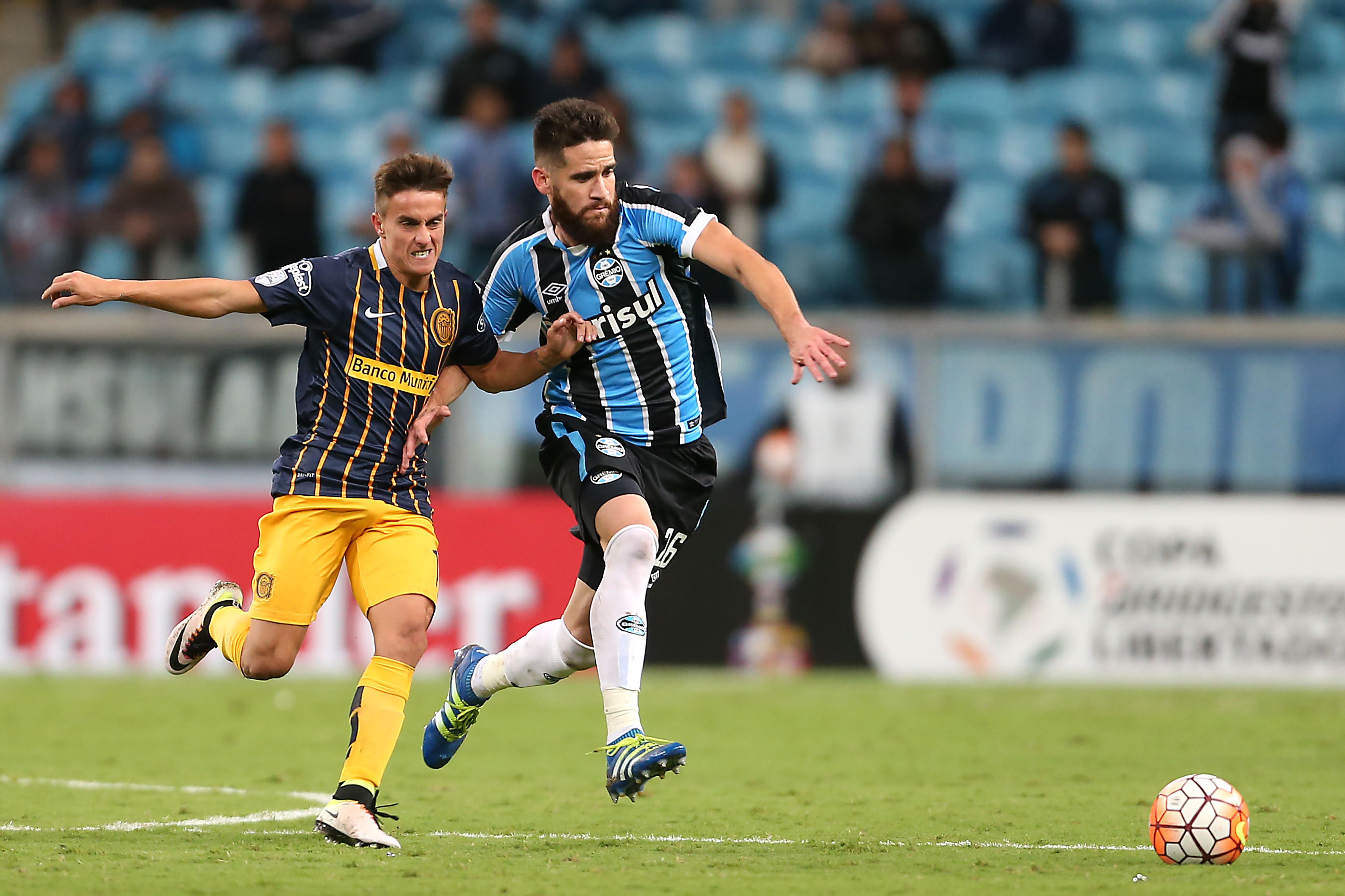 Marcelo Oliveira Marco Ruben Grêmio Rosario Central Copa Libertadores 2016