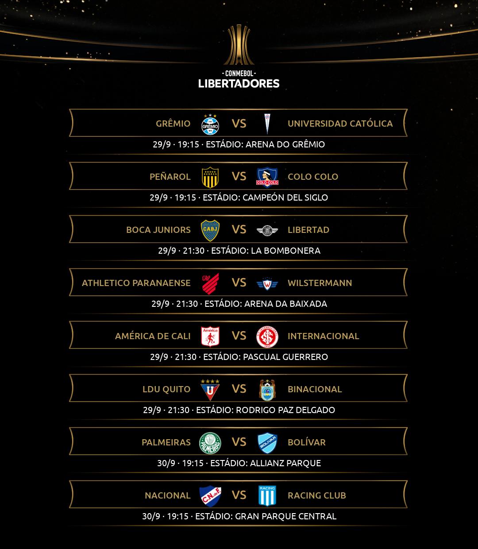 Libertadores - Rodada 5-1