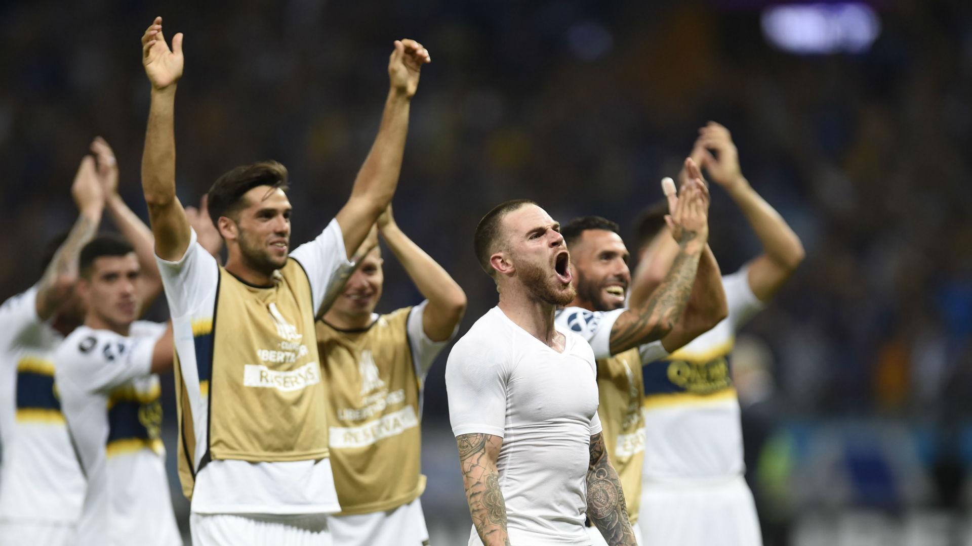 AFP Cruzeiro Boca Juniors CONMEBOL Libertadores
