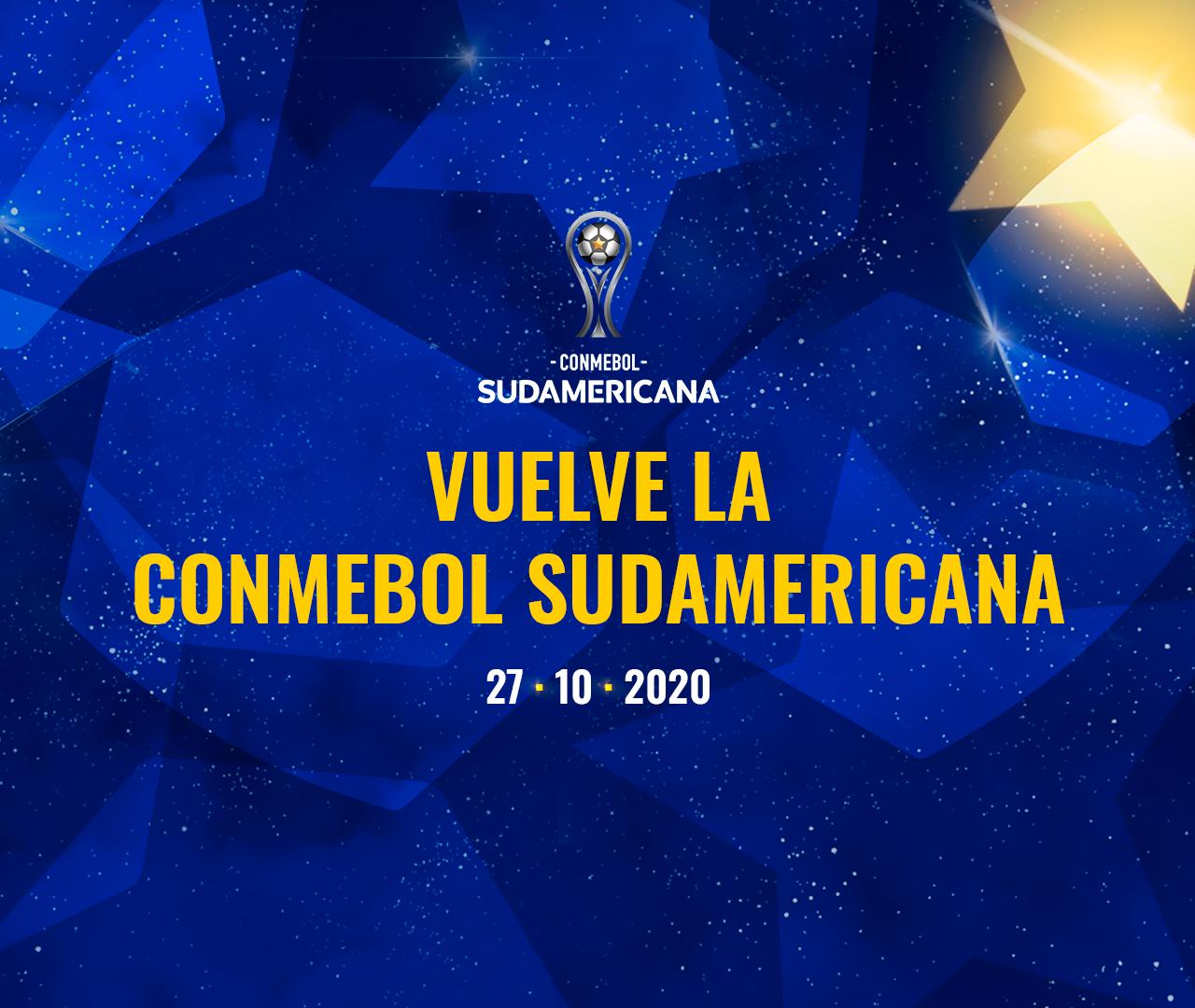 Vuelve la CONMEBOL Sudamericana 2020