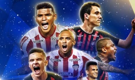 Atlético-PR e Junior, final Sul-Americana