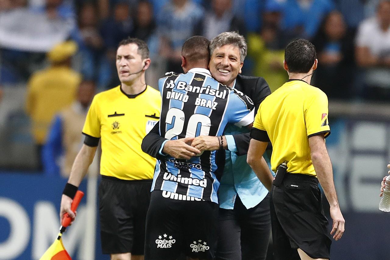 Renato e David Braz - Grêmio - Libertadores