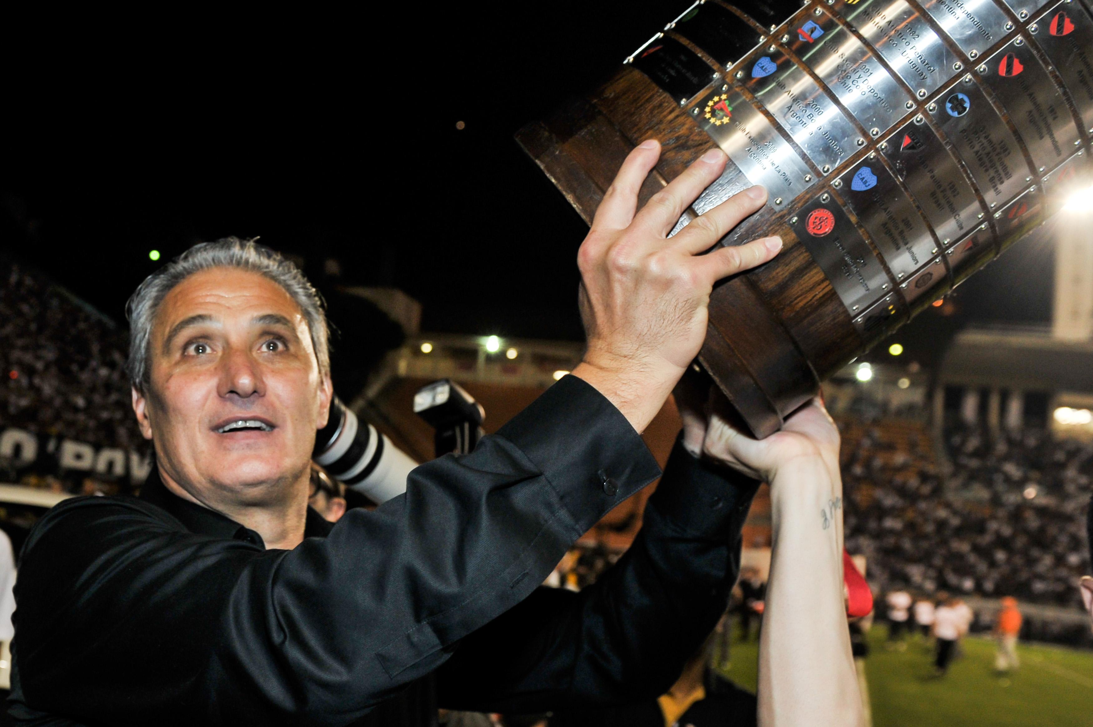 Tite Corinthians 2012 Copa Libertadores