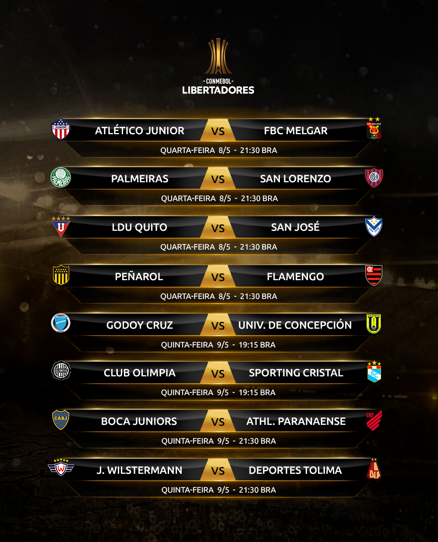 Rodada 6-2 Copa Libertadores