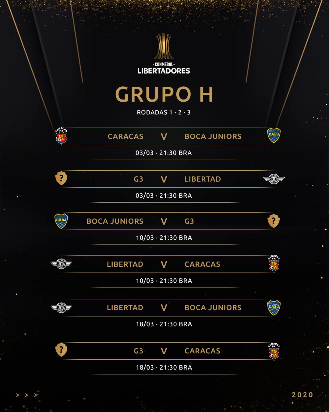 Grupo H Libertadores